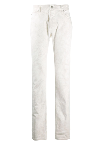 MAISON MARGIELA chalk marble wash denim