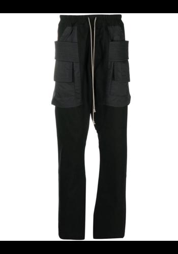 RICK OWENS DRKSHDW creatch cargo nylon pockets black