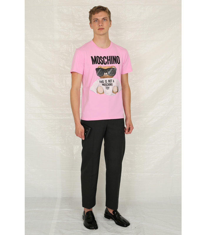 EMBROIDERED T-SHIRT PINK