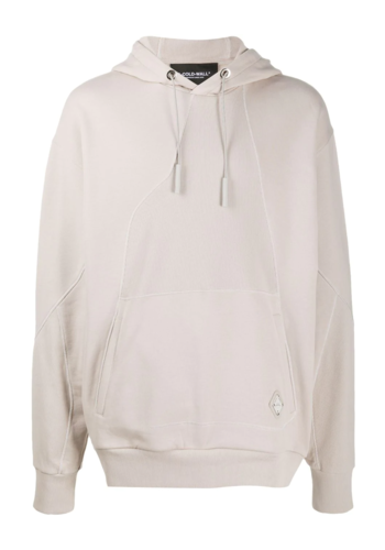 A-COLD-WALL* contour line hoodie beige
