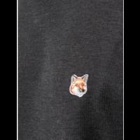 MERINO TURTLENECK FOX HEAD ANTHRACITE