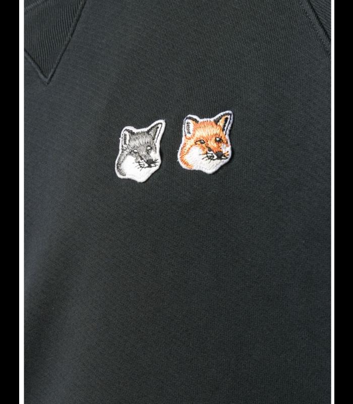 SWEATSHIRT DOUBLE FOX ANTHRACITE