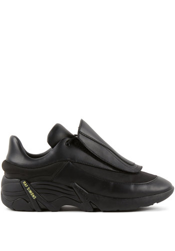 RAF SIMONS antei runner black sneakers