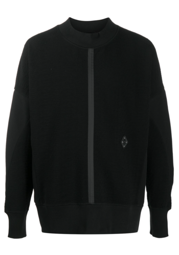 A-COLD-WALL* knitted crewneck black
