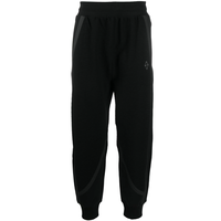 KNITTED JERSEY PANTS BLACK