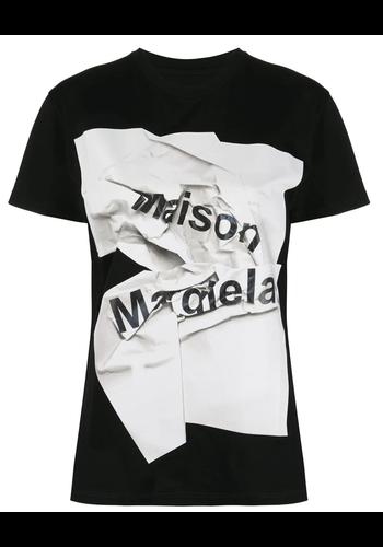 MAISON MARGIELA graphs logo t-shirt
