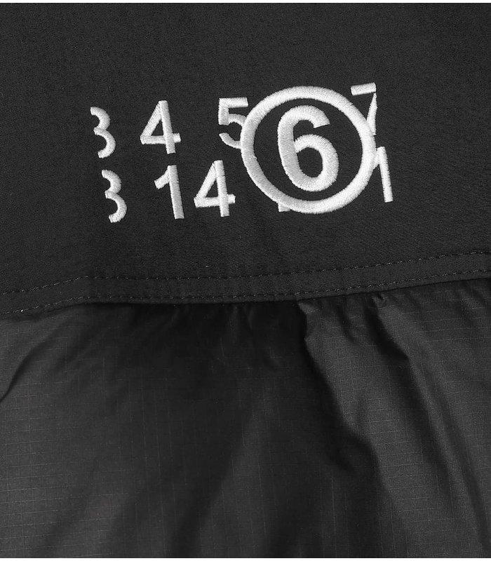 MM6 X NORTHFACE Collab. The North Face 'Nuptse Circle' down jacket black