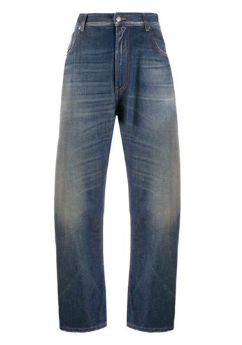 MM6 MAISON MARGIELA balloon leg jeans dirty