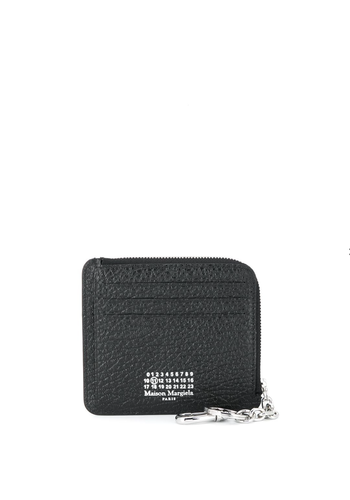 MAISON MARGIELA wallet grainy leather black