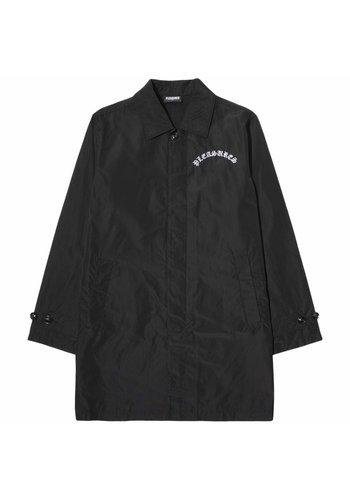 PLEASURES toxic long jacket black