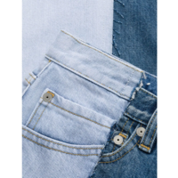 DENIM two-tone LIGHT BLUE