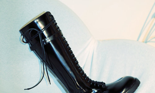 ANN DEMEULEMEESTER'S EMPOWERING BOOTS