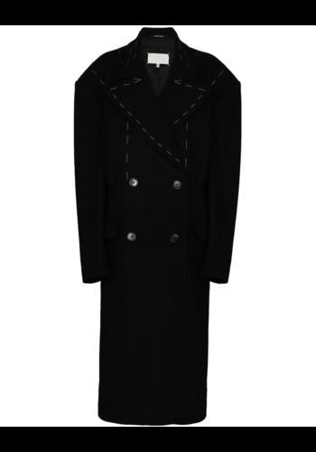 MAISON MARGIELA artisanal coat black