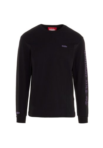 032C longsleeve black/purple