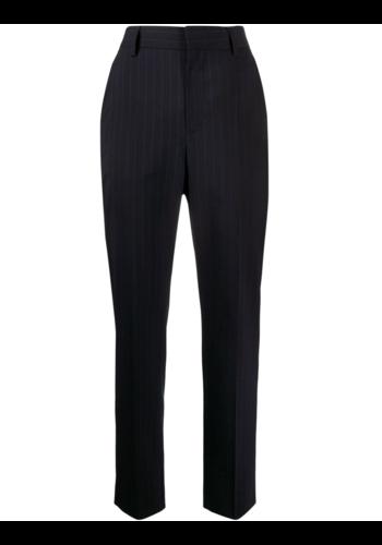 MM6 MAISON MARGIELA pinstripe pants blue/white