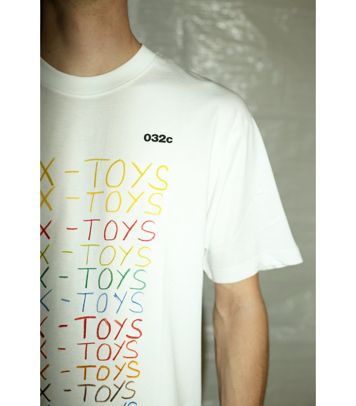 "T-SHIRT ""SEX TOYS"" WHITE"