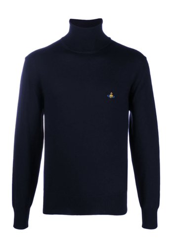 VIVIENNE WESTWOOD classic high neck navy
