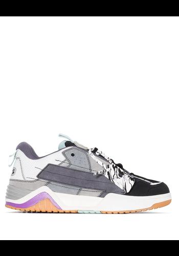 OFF-WHITE skate sneaker black medium grey