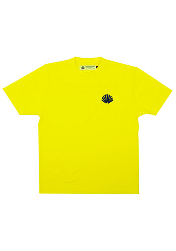 NEW AMSTERDAM SURFASSOCIATION logo tee cyber yellow