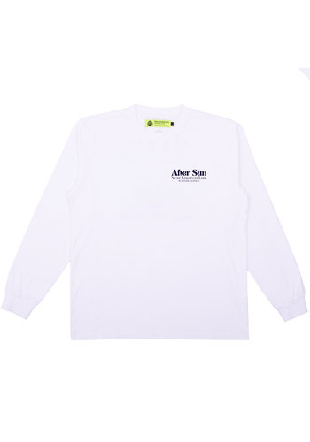 NEW AMSTERDAM SURFASSOCIATION after sun longsleeve white