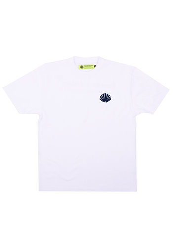 NEW AMSTERDAM SURFASSOCIATION logo tee white navy