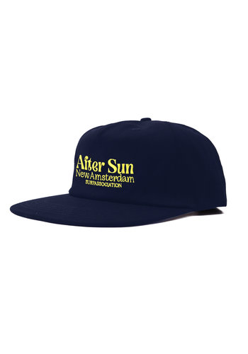 NEW AMSTERDAM SURFASSOCIATION after sun cap navy