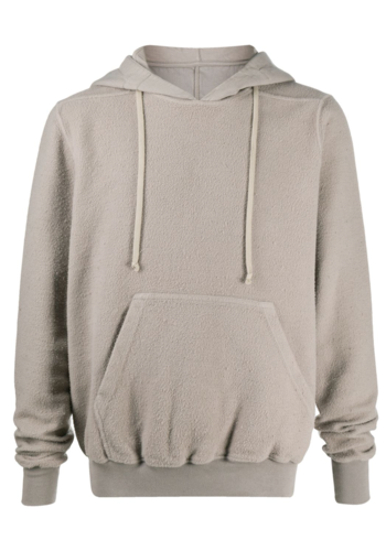 RICK OWENS DRKSHDW granbury hoodie putty