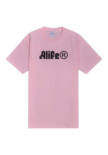 ALIFE sphinx t-shirt pink