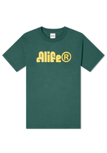 ALIFE sphinx t-shirt forest green