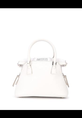 MAISON MARGIELA 5ac micro white/bright bag