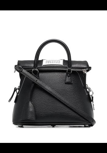 MAISON MARGIELA 5ac mini black/bright bag
