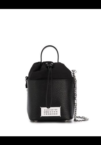 MAISON MARGIELA 5ac bucket bag black