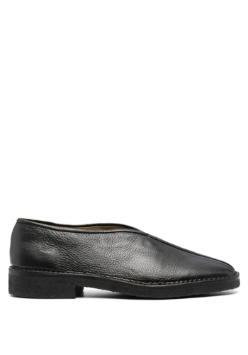 LEMAIRE chinese slippers black