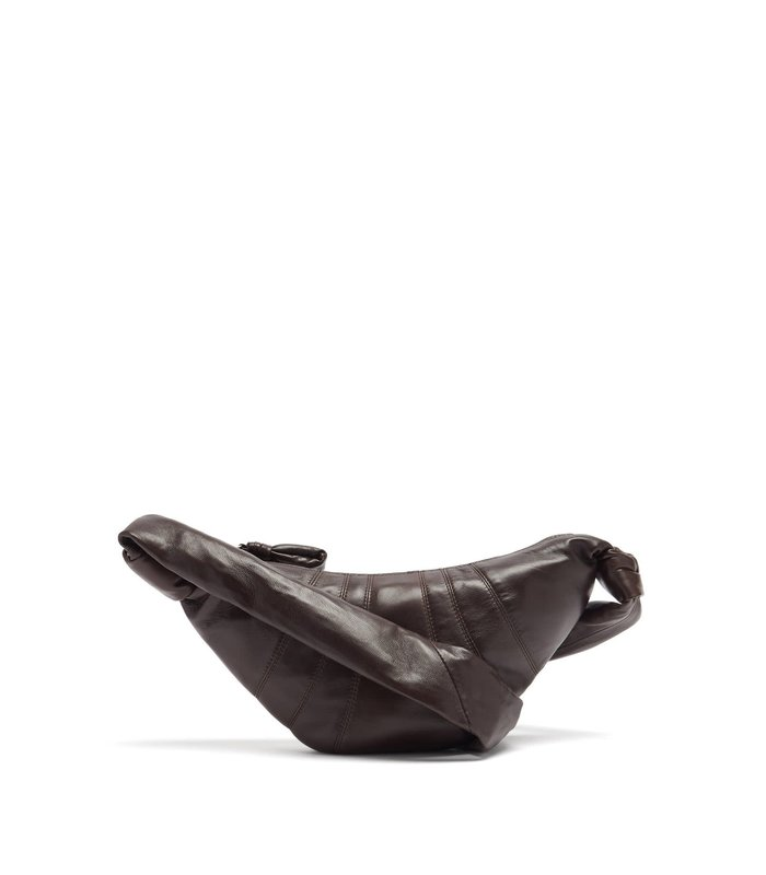SMALL CROISSANT BAG DARK CHOCOLATE