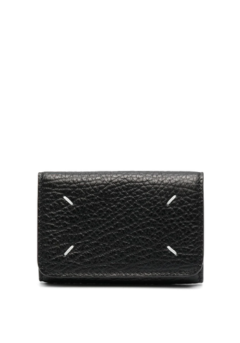 MAISON MARGIELA wallet grain leather black