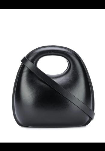 LEMAIRE egg bag black