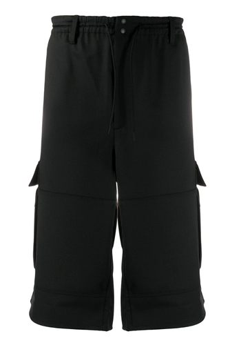 Y-3 cargo shorts black