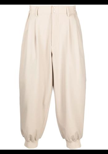 Y-3 cuffed pants  sand