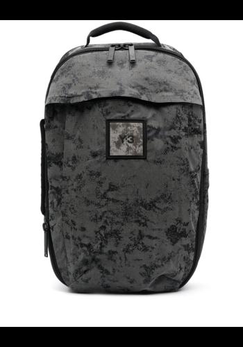 Y-3 reflective backpack black