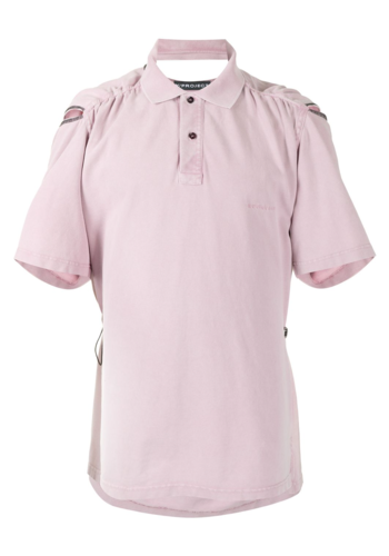 Y/PROJECT convertible polo dusty rose
