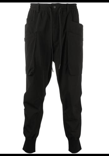 Y-3 ripstop pants black