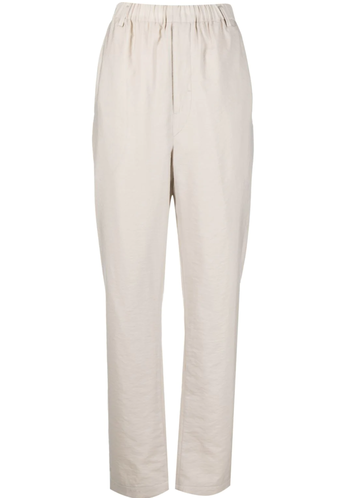 LEMAIRE large elasticated pants pelican grey