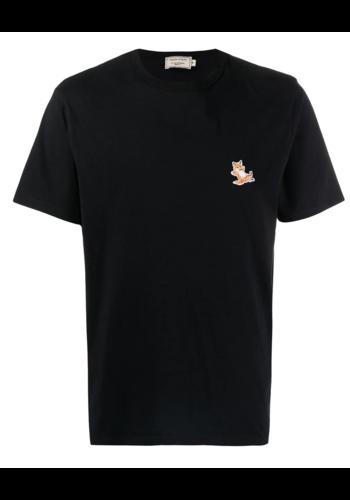 MAISON KITSUNE chillax fox t-shirt black