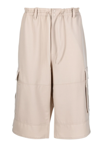 Y-3 cargo shorts sand
