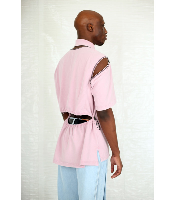 CONVERTIBLE POLO DUSTY ROSE