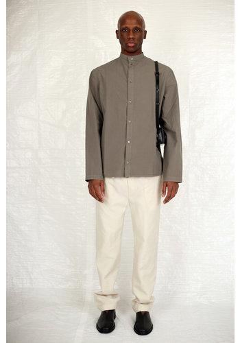 LEMAIRE longsleeve blouse top ash grey