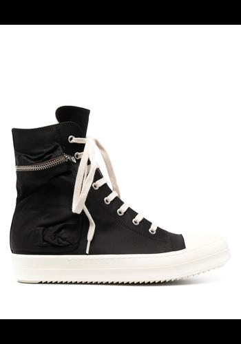 RICK OWENS DRKSHDW cargo sneakers black/milk