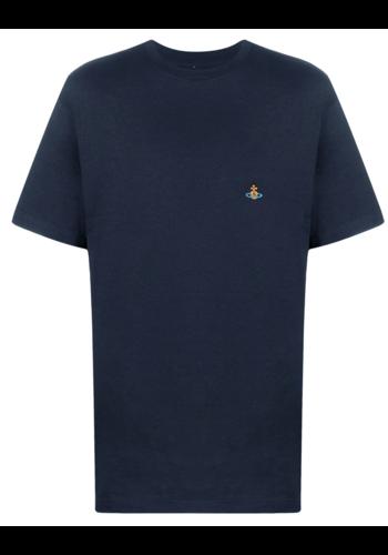 VIVIENNE WESTWOOD classic t-shirt navy