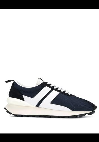 LANVIN running sneakers navy/white