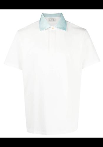 LANVIN ss polo t-shirt offwhite